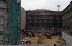 Rekonstrukce Starého ředitelství Vítkovických železáren – foto z výstavby