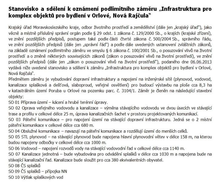 orlova nova rajcula