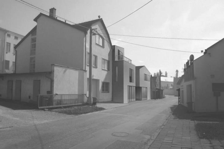 mestske domy hlucin