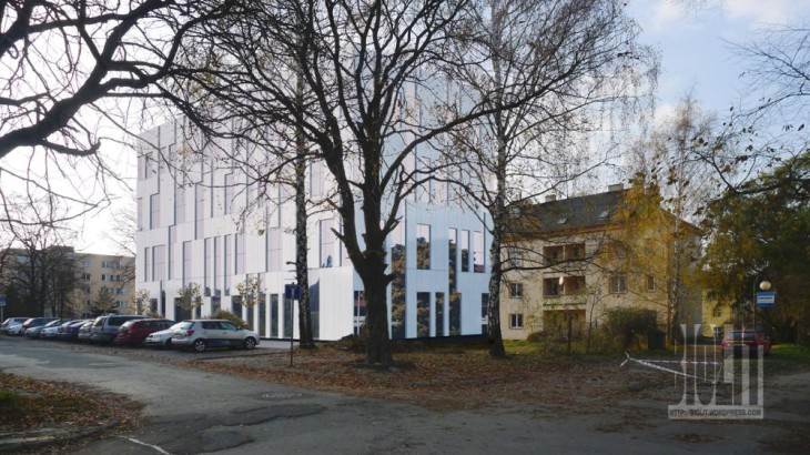 administrativni budova marianske hory