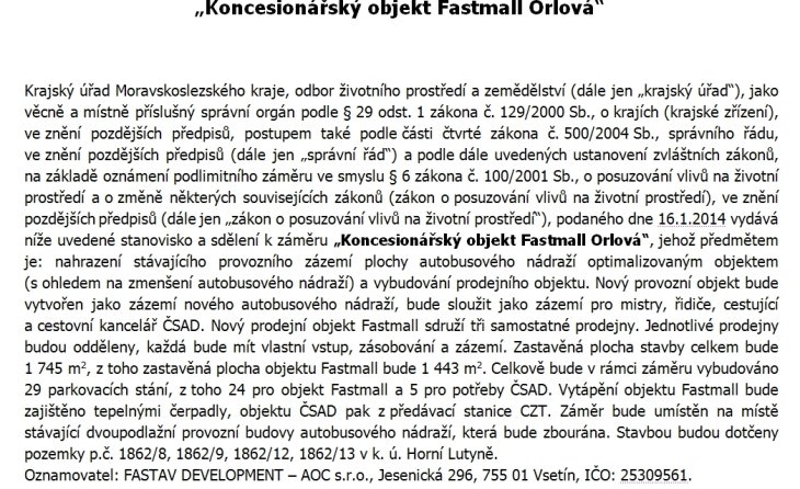 orlova bus