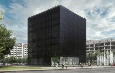 cerna kostka knihovna