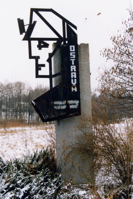 neznámý: vstup do města od Rychvaldu (foto František Řezníček)