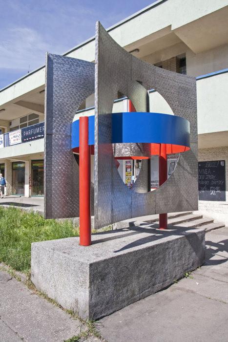 Otto Cienciala: prostorová kompozice, 1967 (foto Jakub Ivánek)