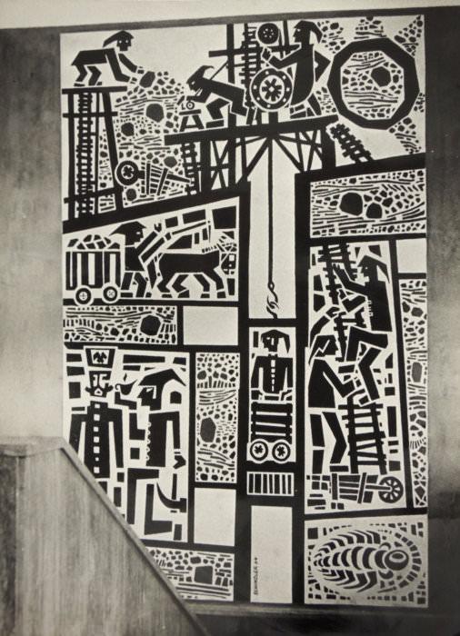 Otakar Schindler: Havíři, 1961–64 (Zemský archiv v Opavě)
