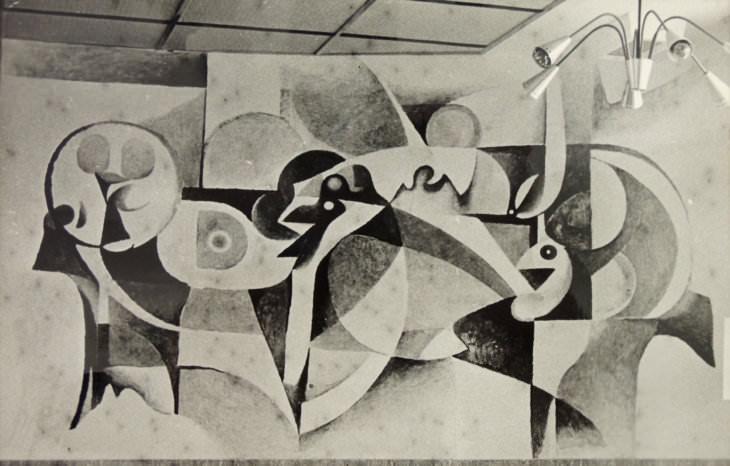 Rudolf Prokop: Ptáci, 1961–64 (Zemský archiv v Opavě)