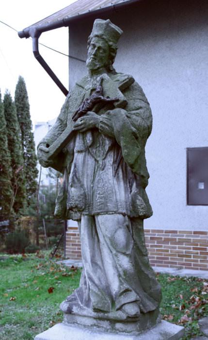 Neznámý: Sv. Jan Nepomucký v Třebovicích na ulici Ostrovského, asi konec 18. století (foto Jakub Ivánek)