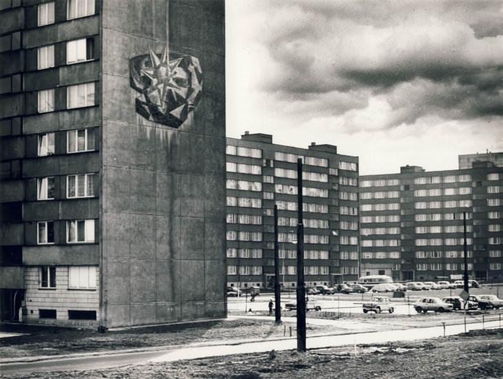 Karel Štětkář: Červený květ, 1976 (foto Petr Sikula)